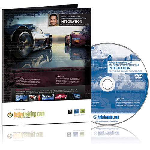 Kelby Media DVD: Adobe Photoshop CS4 and Dreamweaver CS4 Integration with Rafael RC Concepcion