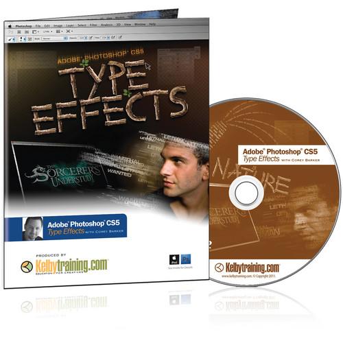 Kelby Media DVD: Adobe Photoshop CS5 Type Effects with Corey Barker