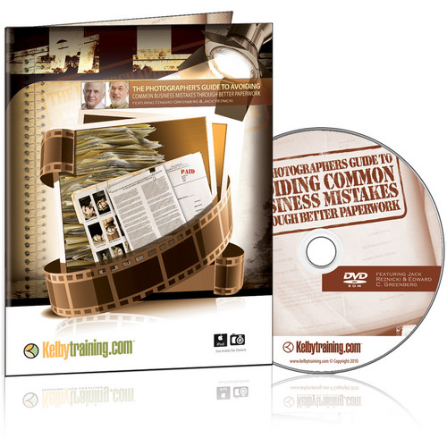 Kelby Media DVD: The Photographer's Guide to Avoiding Common Business Mistakes with Jack Reznicki and Edward Greenberg