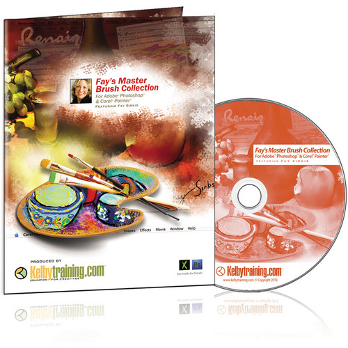 Kelby Media DVD: Fay's Master Brush Collection with Fay Sirkis
