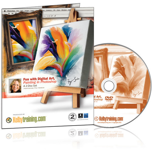 Kelby Media DVD: Fun with Digital Art, Painting in Photoshop with Fay Sirkis