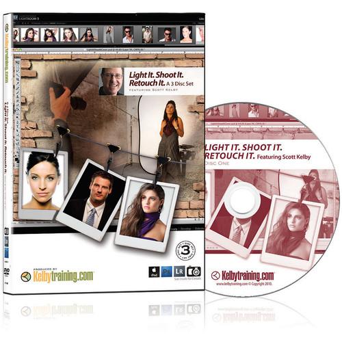 Kelby Media DVD: Light It; Shoot It; Retouch It by Scott Kelby