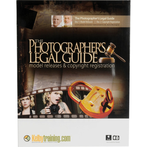Kelby Media DVD: The Photographer's Legal Guide: Model Releases & Copyright Registration with Jack Reznicki and Edward Greenberg