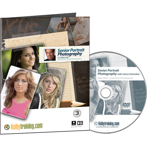 Kelby Media DVD: Senior Portrait Photography with James Schmelzer