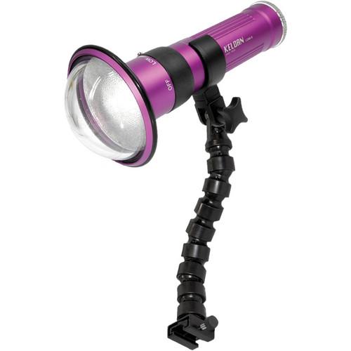 Keldan Single LUNA-8 LA-V LED Video Light Kit