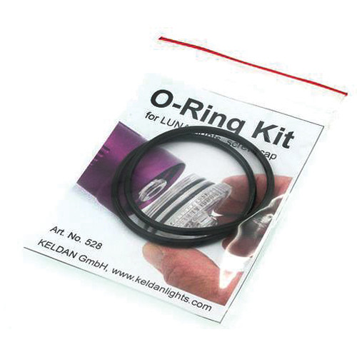 Keldan O-Ring Kit for Luna Underwater Video Lights