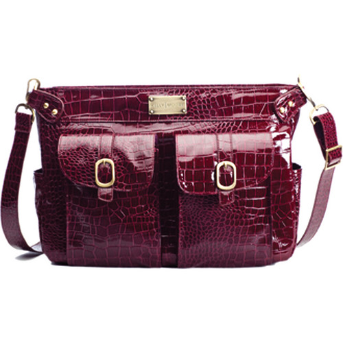 Kelly Moore Bag Classic Bag (Cranberry Croc)