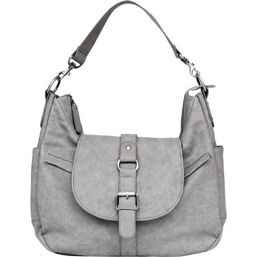 Kelly Moore Bag B-Hobo Bag with Tablet Divider (Heather Grey)
