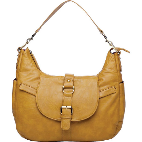 Kelly Moore Bag B-Hobo Bag with Removable Basket (Mustard)