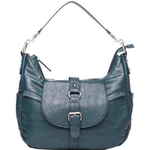 Kelly Moore Bag B-Hobo Bag with Removable Basket (Muted Teal)