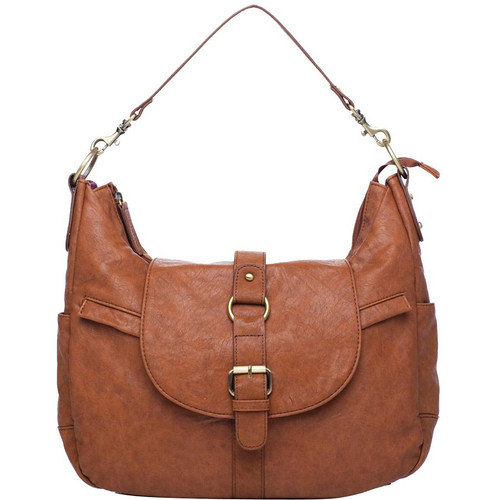 Kelly Moore Bag B-Hobo Shoulder Bag (Walnut)