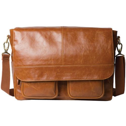 Kelly Moore Bag Kelly Boy Bag with Trolley Sleeve (Caramel)