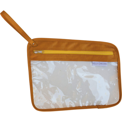 Kelly Moore Bag Accessory Pouch (Mustard)