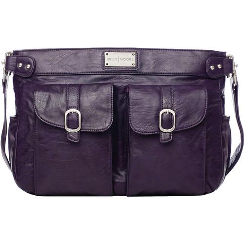 Kelly Moore Bag Classic Shoulder Bag (Purple)