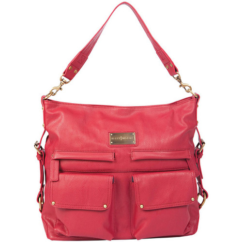 Kelly Moore Bag 2 Sues Shoulder Bag with Removable Basket (Raspberry)