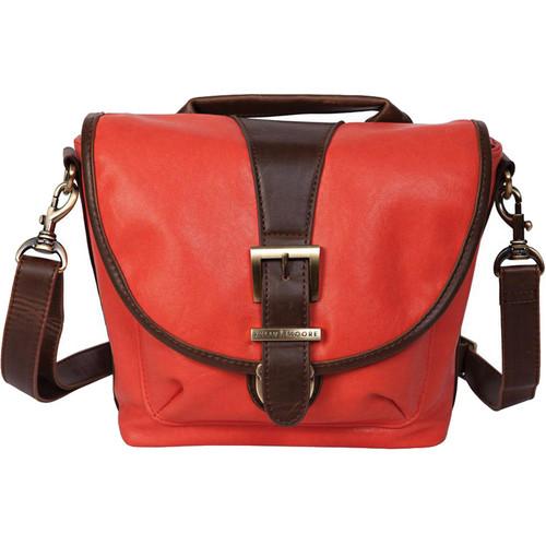 Kelly Moore Bag Riva Shoulder Bag with Removable Basket (Tangerine)