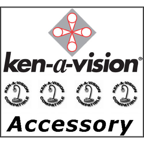 Ken-A-Vision Microscope Vinyl Cover (Frosted Vinyl)
