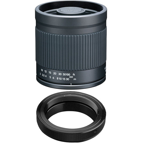 Kenko 400mm f/8.0 Mirror Lens with T-Mount SLR Camera Adapter for Pentax K