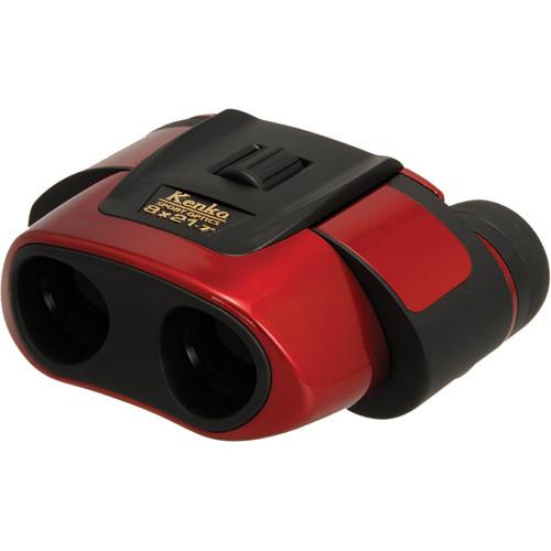Kenko Ultra View 8x21 Binocular (Red)