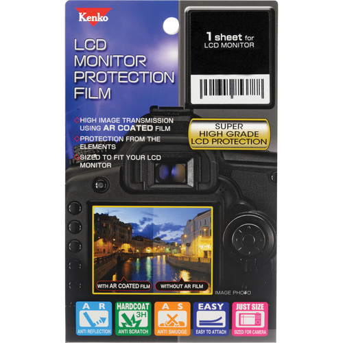 Kenko LCD Monitor Protection Film for the Nikon D800 or D800E Camera
