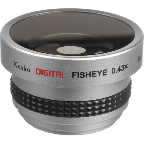 Kenko SGW-043 37mm 0.43x Wide-Angle Fisheye Lens