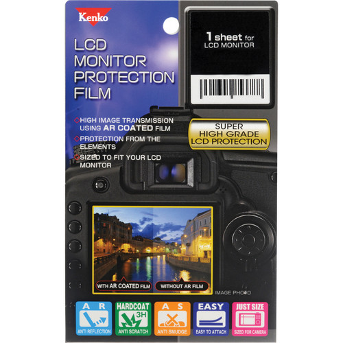 Kenko LCD Monitor Protection Film for the Nikon D3200 Camera