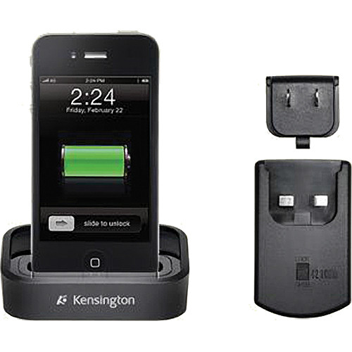 Kensington Charge & Sync Dock with Wall Adapter for iPhone