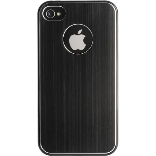 Kensington Aluminum Finish Case for iPhone 4 & 4S (Black)