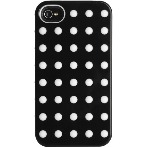 Kensington Combination Case for iPhone 4 & 4S (Black with White Dots)