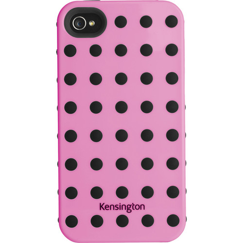 Kensington Combination Case for iPhone 4 & 4S (Pink with Black Dots)