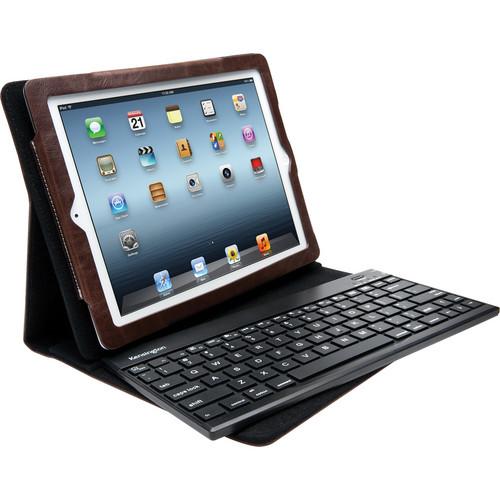 Kensington KeyFolio Pro 2 Removable Keyboard, Case and Stand (Dark Brown)