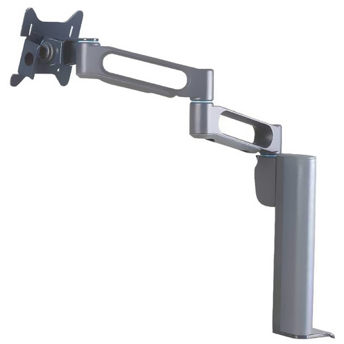 Kensington Column Mount Extended Monitor Arm With SmartFit System (Gray)