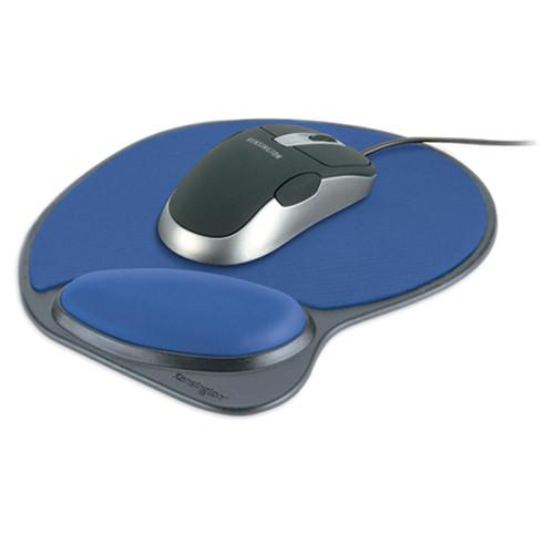 Kensington Memory Foam Mouse Wrist Pillow (Blue and Gray)