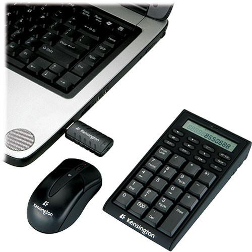 Kensington Wireless Notebook Keypad/Calculator and Mouse Set - USB
