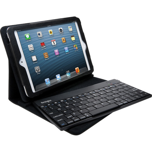 Kensington KeyFolio Pro 2 Removable Keyboard, Case & Stand for iPad mini (Black)