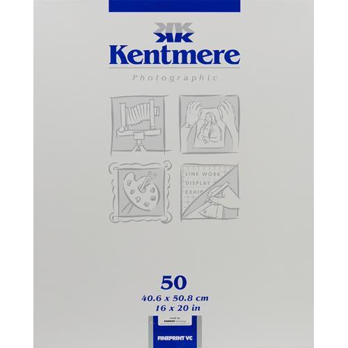 "Kentmere Fineprint VC B&W  FB Paper (16x20"", Glossy, 50 Sheets)"
