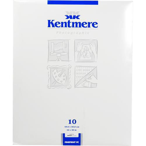 "Kentmere 6006578 Fineprint VC FB B&W Photo Paper Glossy 16 x 20"" (10 Sheets)"