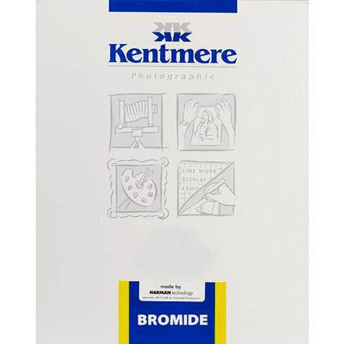 "Kentmere 6006789  Bromide FB  B&W Paper Grade #3 8 x 10"" (100 Sheets) Glossy"