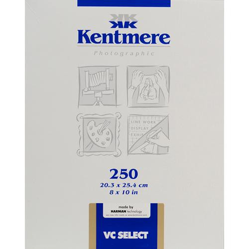 """Kentmere Select Variable Contrast Resin Coated Paper (8 x 10"""", Fine Luster, 250 Sheets)"""