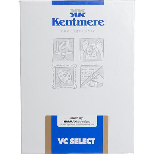 "Kentmere Select Variable Contrast Resin Coated Paper (5 x 7"", Fine Luster, 25 Sheets)"