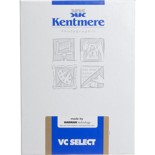 """Kentmere Select Variable Contrast Resin Coated Paper (5 x 7"""", Glossy, 250 Sheets)"""