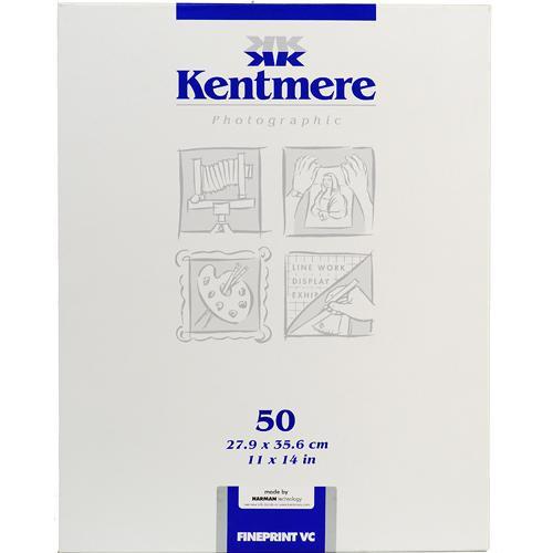 "Kentmere Fineprint VC B&W  FB Paper (11x14"", Glossy, 50 Sheets)"