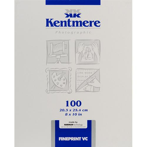 "Kentmere Fineprint VC B&W  FB Paper (8x10"", Glossy, 100 Sheets)"