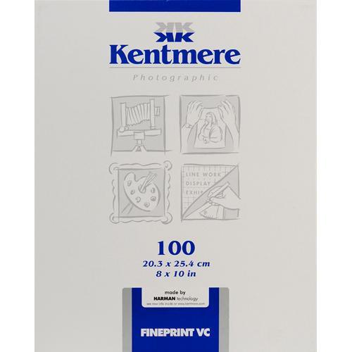 "Kentmere Fineprint VC B&W  FB Paper (8x10"", Glossy, 100 Sheets)"
