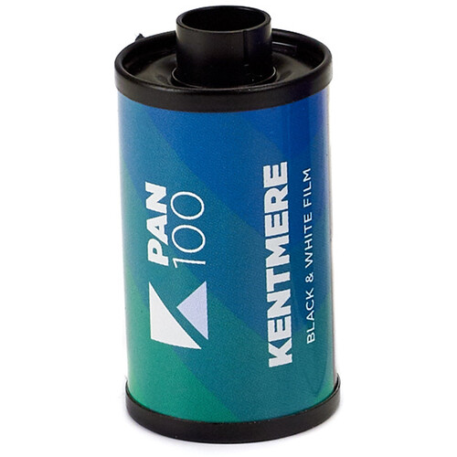 Kentmere 100 ASA Black and White Negative Film (35mm Roll Film, 36 Exposures)