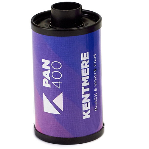 Kentmere 400 ASA Black and White Negative Film (35mm Roll Film, 36 Exposures)