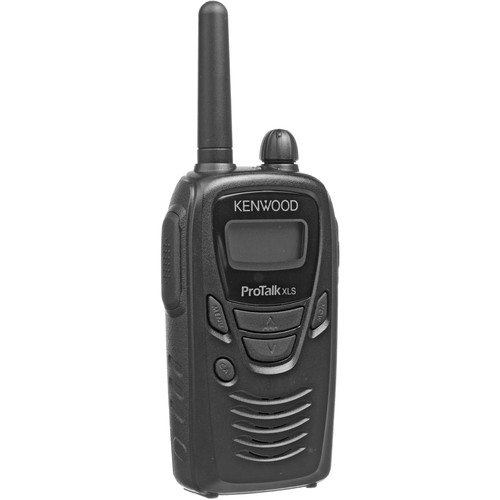 Kenwood ProTalk TK-3230XLS Portable Two-Way UHF Radio with LCD Display (Black)
