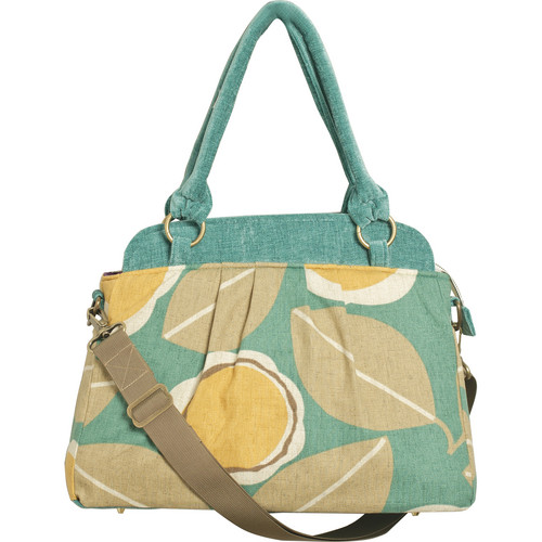 Ketti Handbags Modernista Camera Bag (Turquoise, Yellow, Taupe)