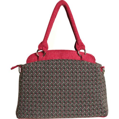Ketti Handbags Polka Dot Camera Bag (White, Black, Pink)