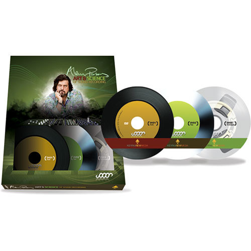 KeyFax NewMedia DVD: Alan Parsons' Art & Science of Sound Recording (3 DVD Boxed Set)